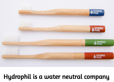 Hydrophil toothbrushes